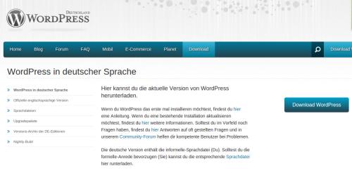 Wordpress installieren Anleitung