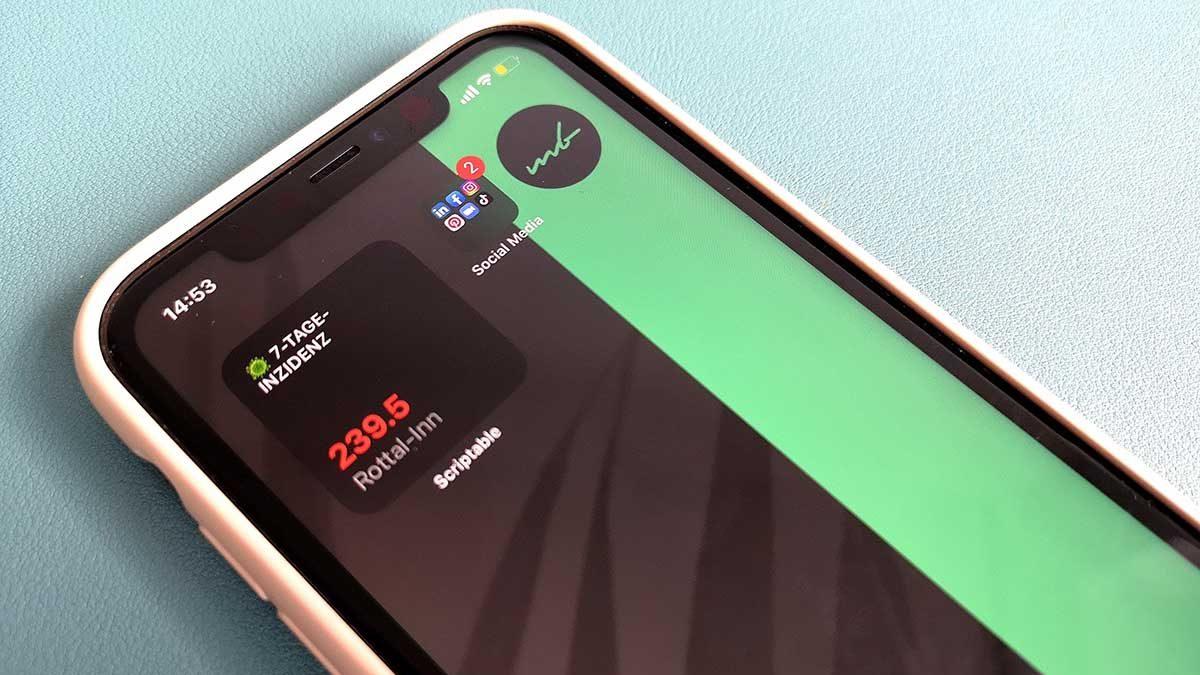 Inzidenz Widget erstellen iPhone