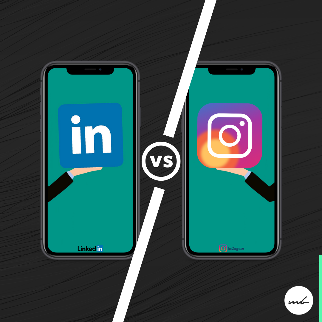 LinkedIn vs. Instagram
