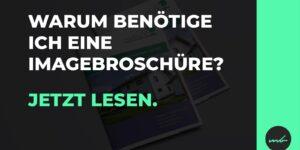 Firmenbroschüre Imagebroschüre