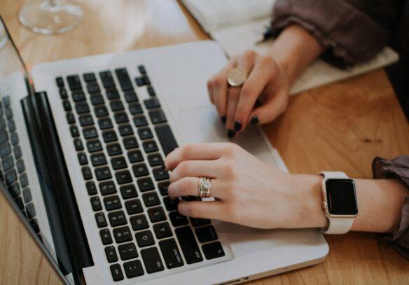 Online Marketing MacBook