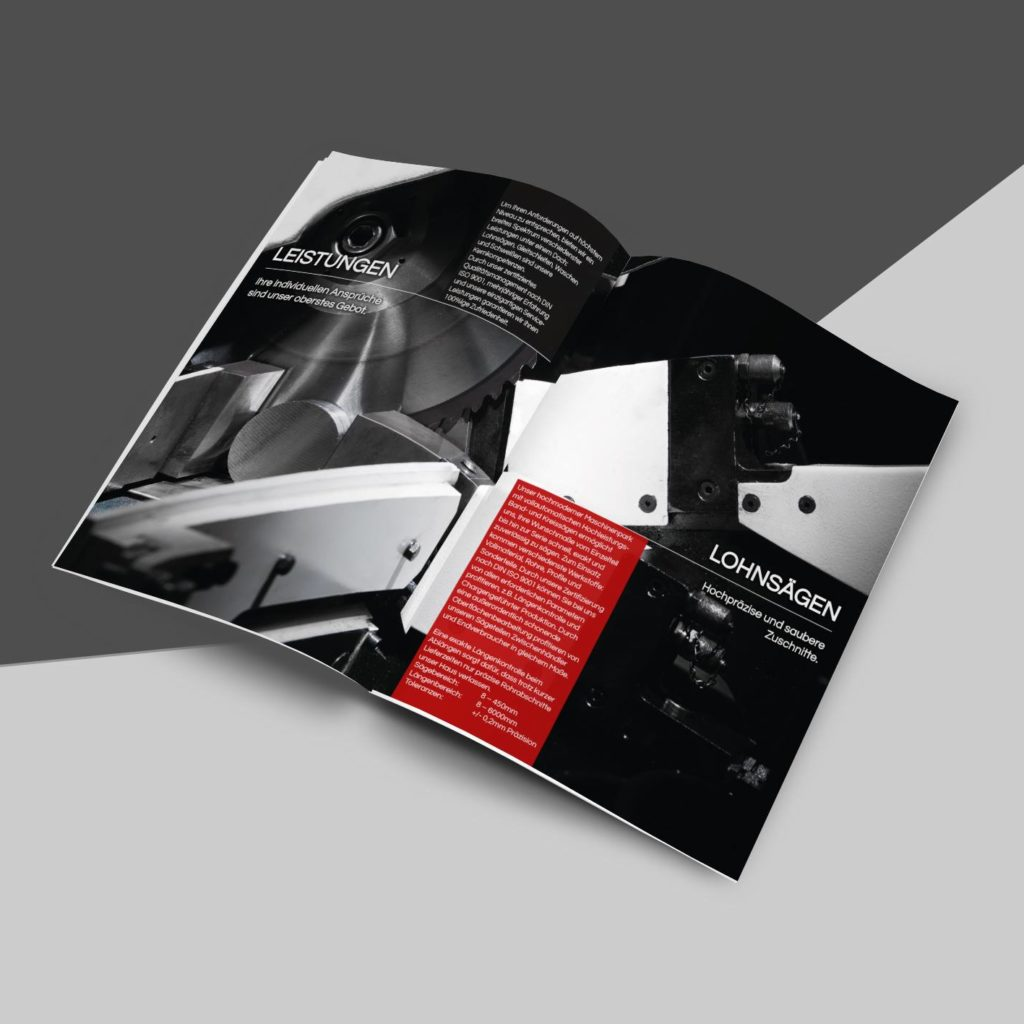 Design einer Broschüre in Eggenfelden