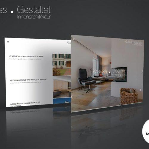 Krauss Gestaltet Webseite Webdesign Eggenfelden